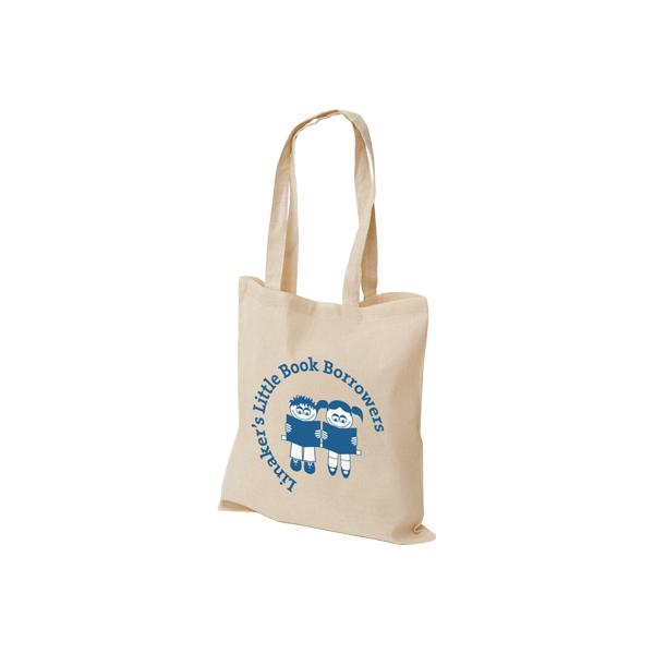 Cotton Bag Lineaker's Little Book Borrowers